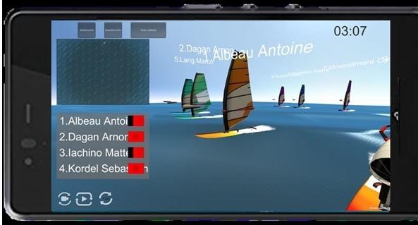 3Dバーチャル観戦機能などを搭載した観戦アプリ