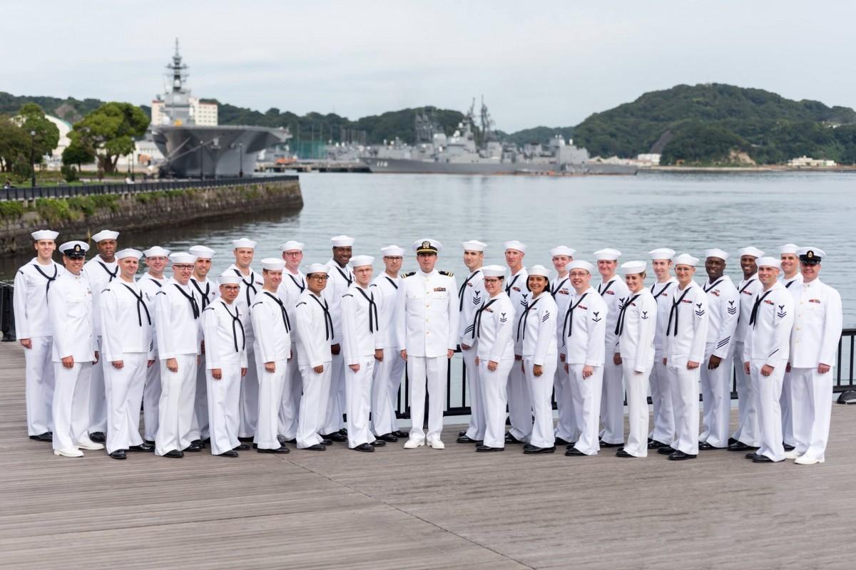 横須賀を拠点に文化交流を行う米海軍第7艦隊音楽隊