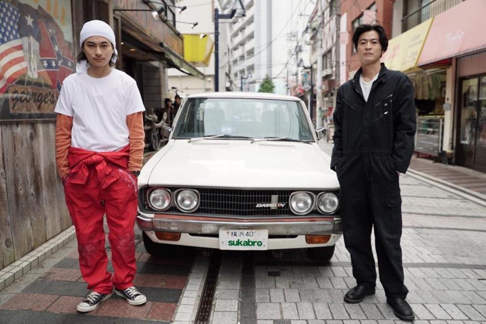 横須賀を舞台にした映画「スカブロ」のワンシーン