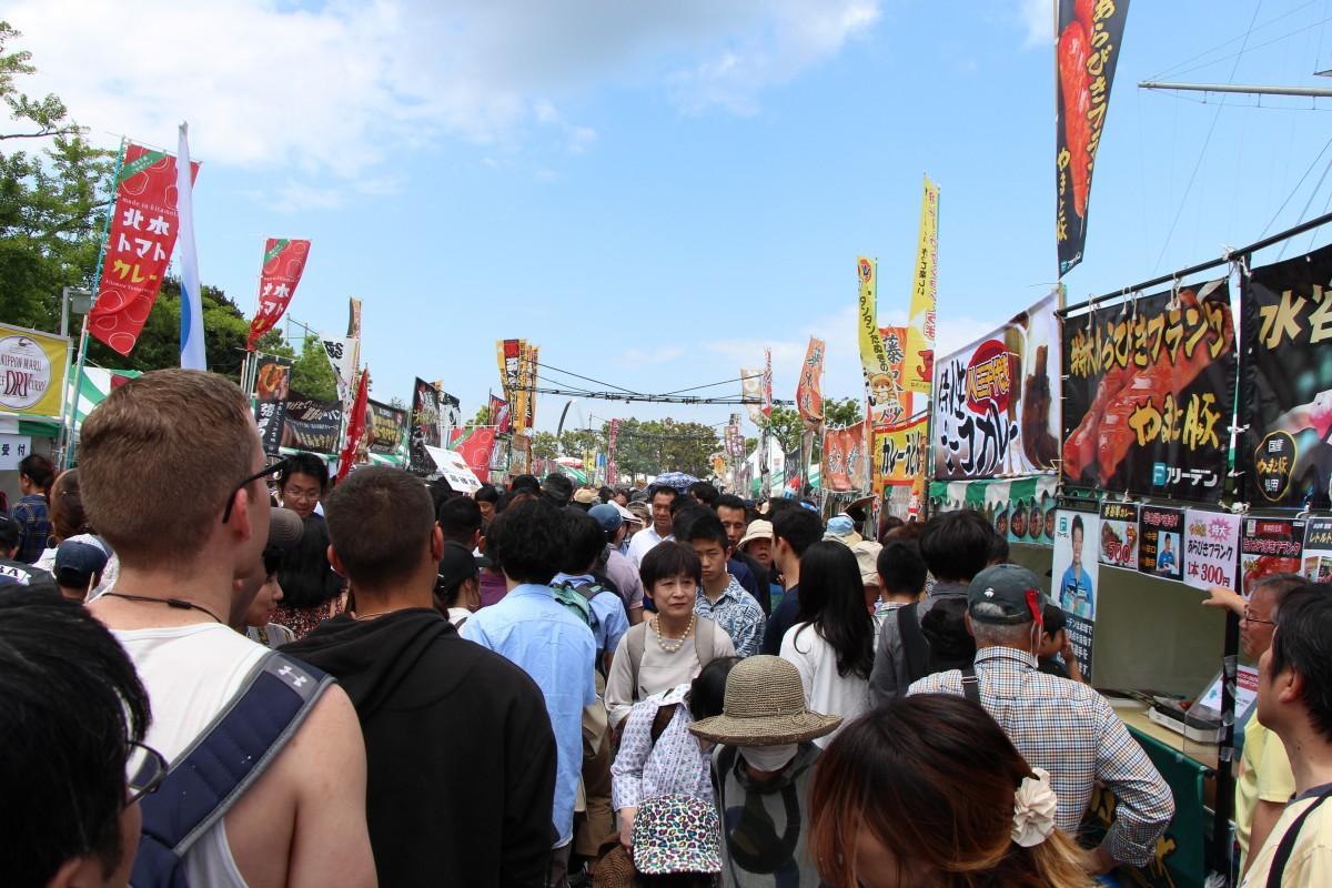 2日間で6万5.000人超が集まった「よこすかカレーフェスティバル2019」