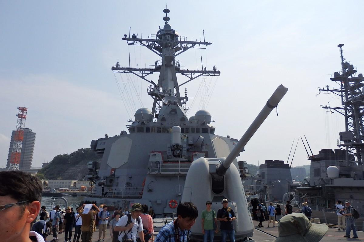 海上自衛隊横須賀地方総監部では艦船公開も(前回の様子)