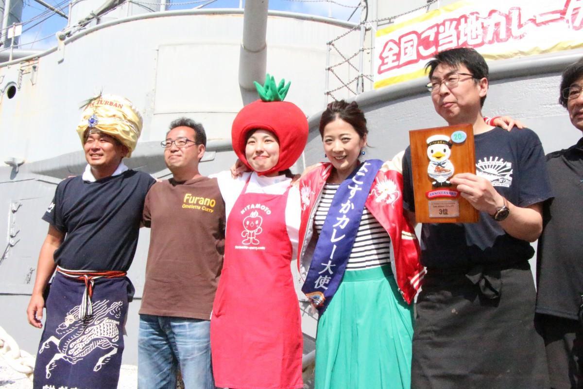 昨年の「よこすかカレーフェスティバル」に集まった各地のカレー仕掛け人たち