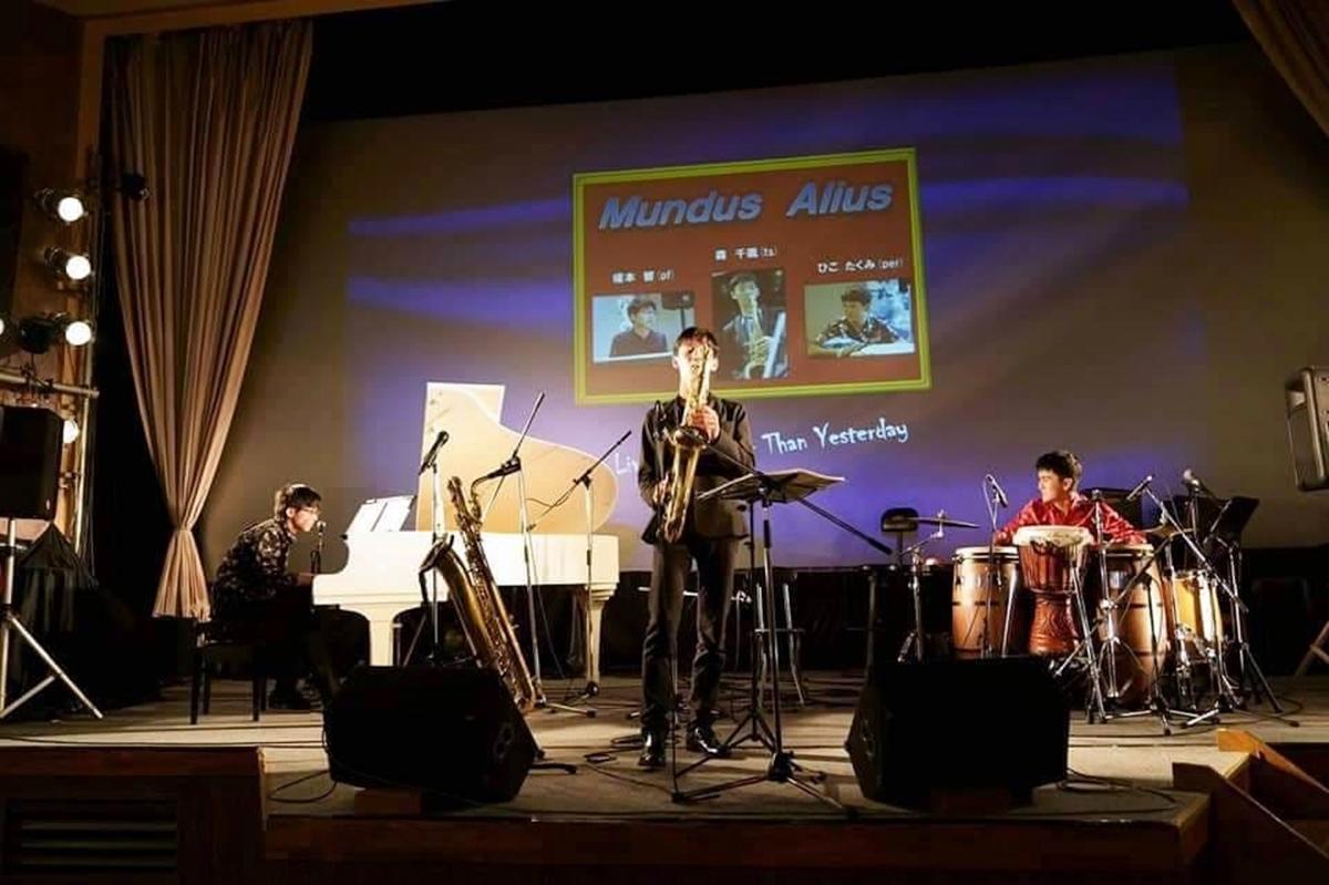 無観客ライブで動画配信を行い、寄付を集める高校年バンド「ムンダスアリウス」
