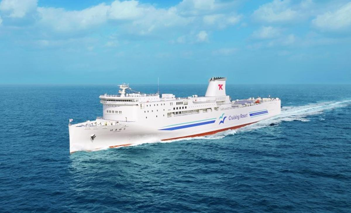 東京九州フェリーの新型船舶、横須賀の花から名付けられた「はまゆう」