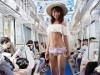 走る車内で「水着ショー」 京急・三浦海岸行き女性限定列車を運行