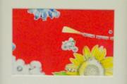 横手市在住の日本画家が作品展 県展特賞作品など23点展示