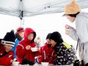横手で真冬の「かき氷」早食い世界選手権 あまえこかき氷PR