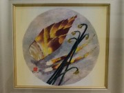 横手・十文字で「和紙絵画展」 大仙の女性作家が28点出展