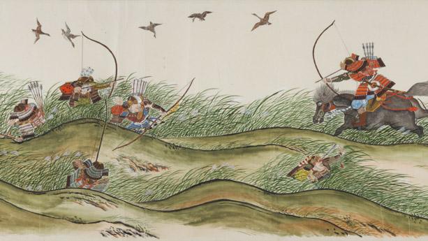 「金澤八幡宮」が所蔵する「後三年合戦絵巻」