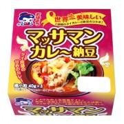 「マッサマンカレー納豆」 秋田・美郷町の納豆製造会社が発売