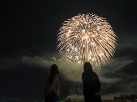 「増田の花火」昨年の様子
