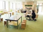 横手・増田に「としょかんカフェ」 県産フルーツ使ったワッフルなど販売へ