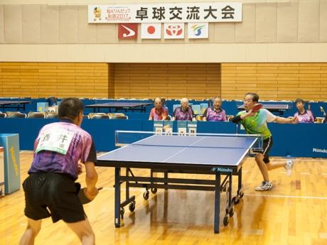 全国健康福祉祭あきた大会「ねんりんピック秋田2017」の卓球競技