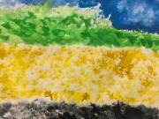 横手で風景図画コンクール 市内小学生の作品535点を展示
