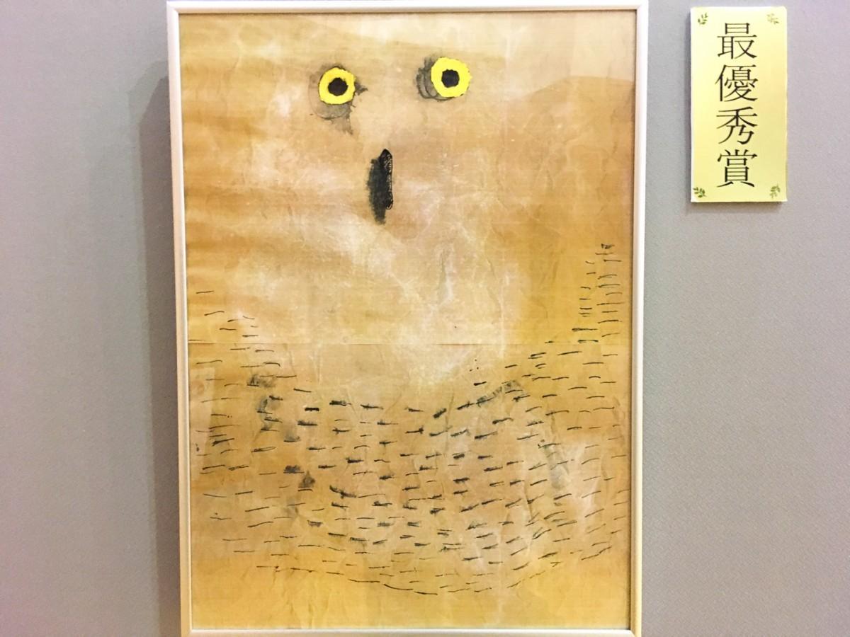 でまえわくわく美術展の展示作品