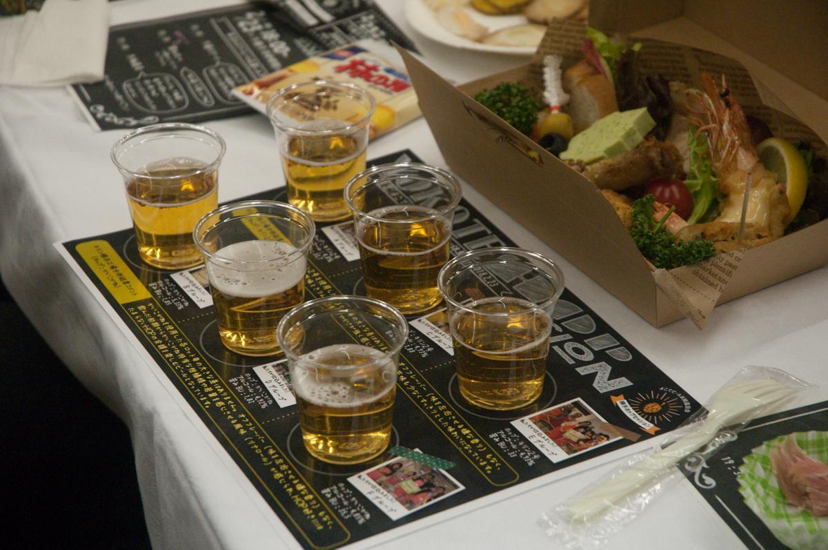 横手産ホップを使った6種ビールを飲み比べ