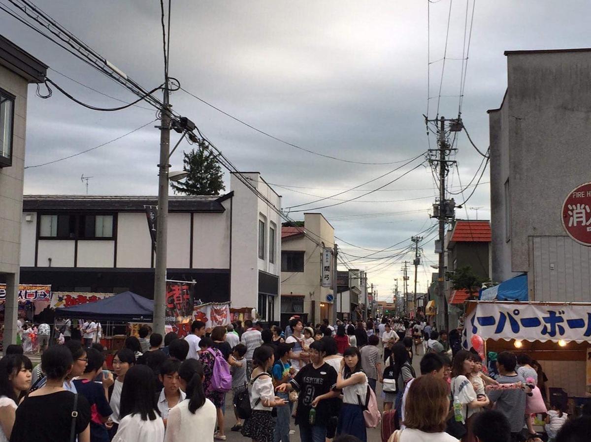 「美郷ちゃん夜市」の様子(写真は2017年)