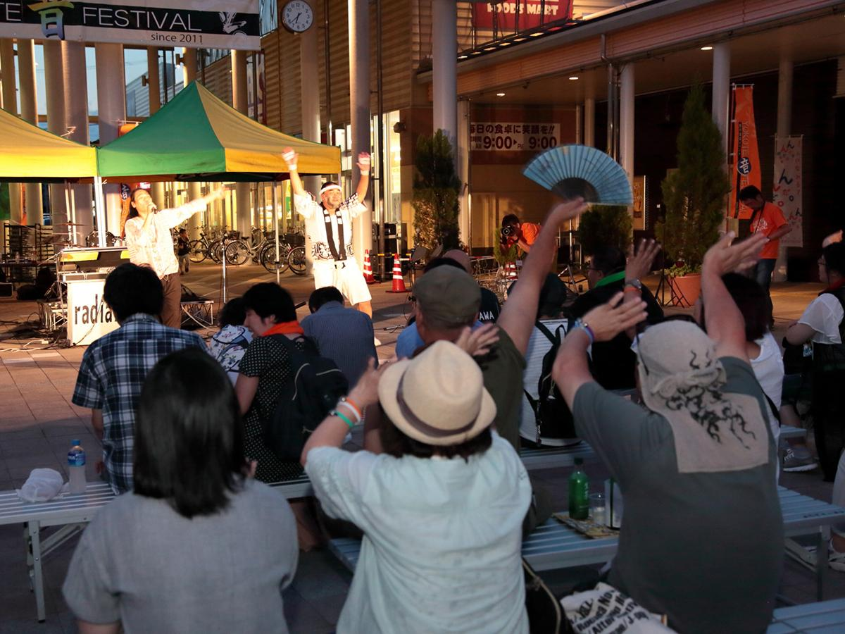 「YOKOTE音FESTIVAL」会場の様子(写真は2017年)