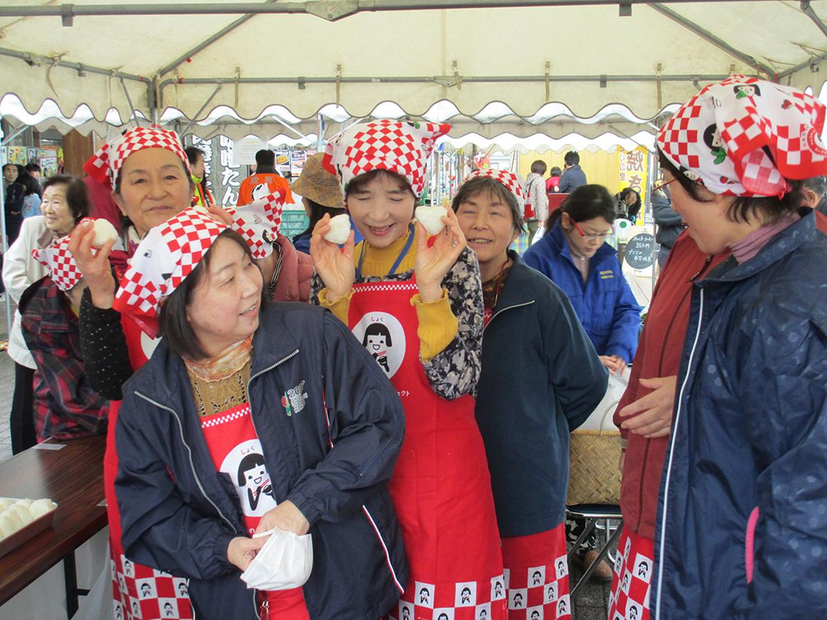 「十文字収穫祭」の様子(写真は2017年)