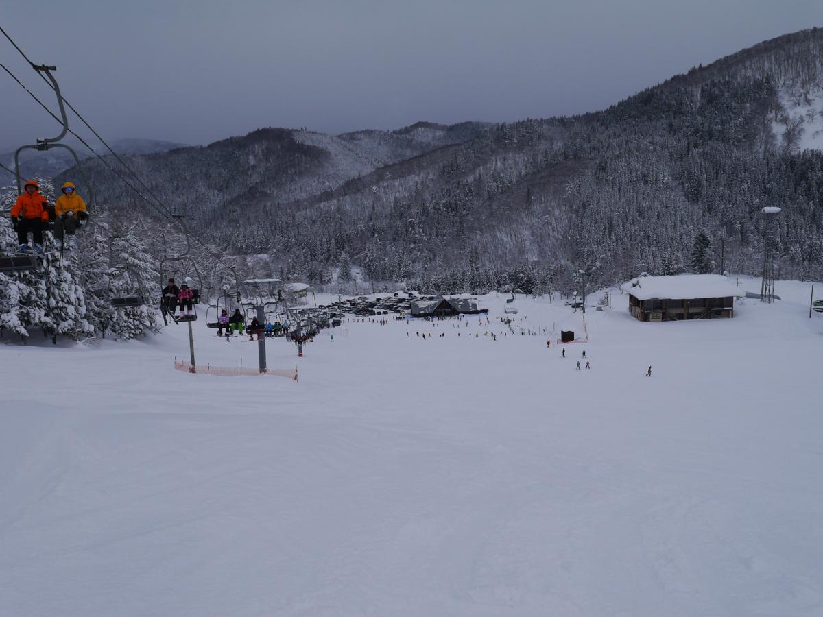天下森スキー場ゲレンデの様子