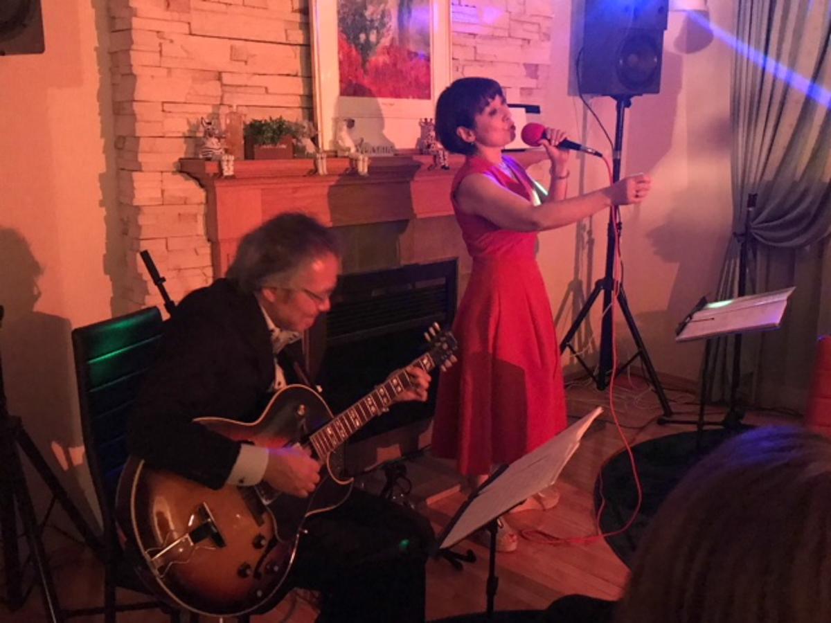 横手市で開かれた「Jazz Live」の様子