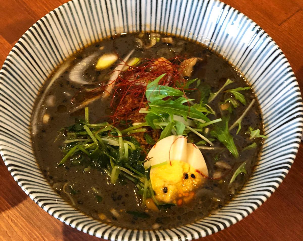 「担々麺専門店 廣(ひろ)」の「黒ゴマ坦々麺」