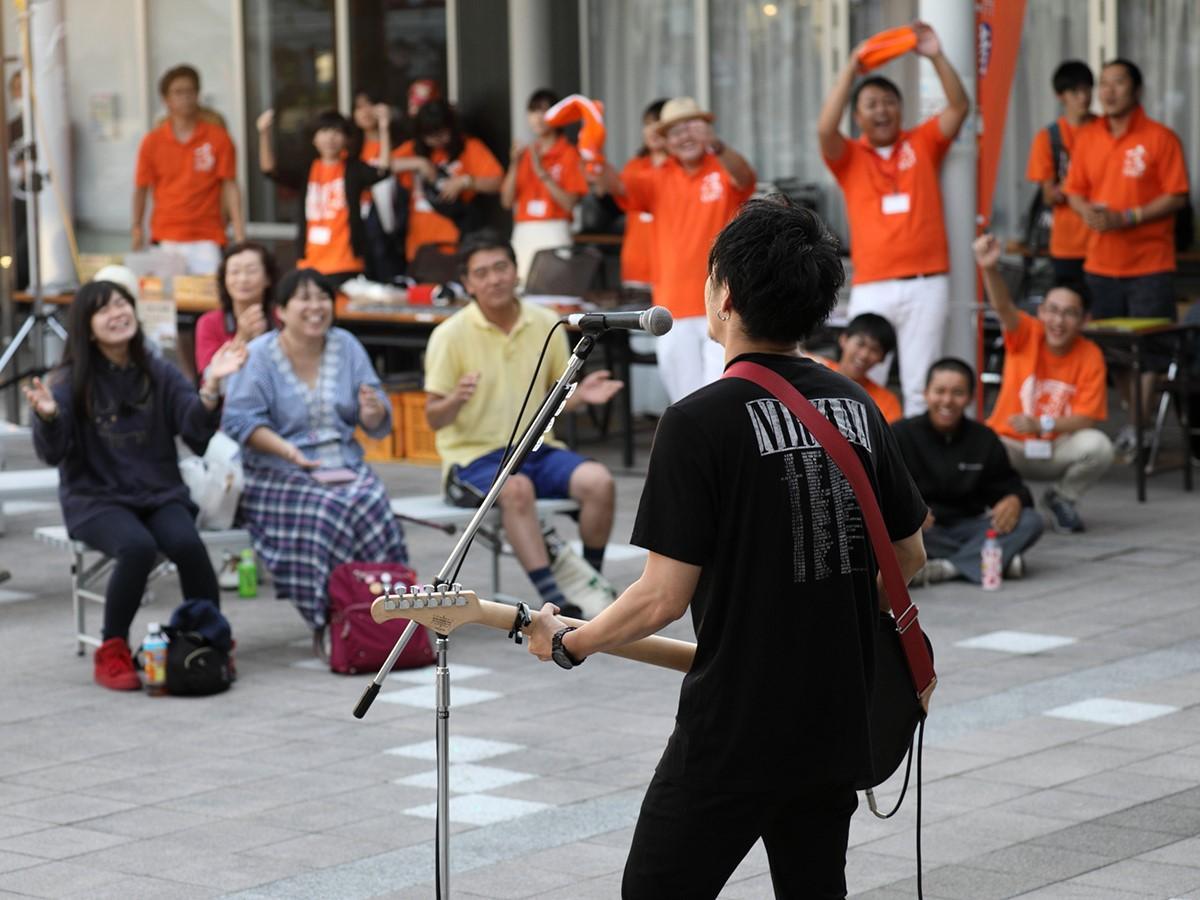 「YOKOTE音FESTIVAL」会場の様子(昨年)