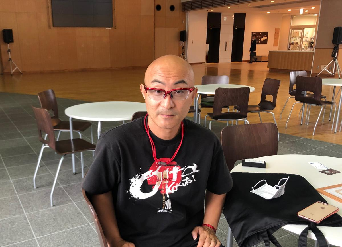 「日本パラ陸上競技選手権大会」の砲丸投で優勝した鈴木貴之選手