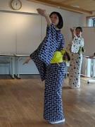 逗子在住の元タカラジェンヌはんなさんが日本舞踊教室、美しい所作で女子力アップ