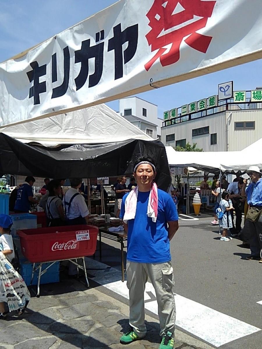 社長の次男、桐ヶ谷郁人さん。小学生当時、夏休みの宿題で木工作をすることがきっかけでイベントがスタートした
