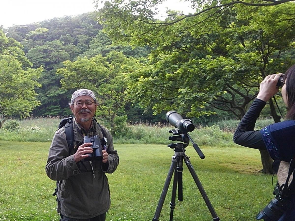 自然観察案内人、逗子在住の田中和徳さん