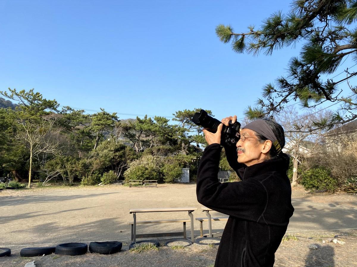 「葉山・一色での撮影は日課」という写真家・佐藤正治さん