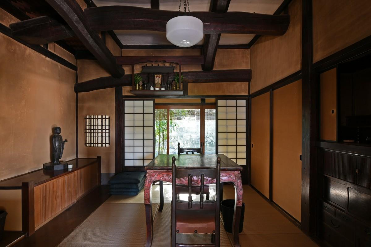 旧金子堅太郎葉山別邸米寿荘の東棟1階北西の居室 - 逗子葉山経済新聞